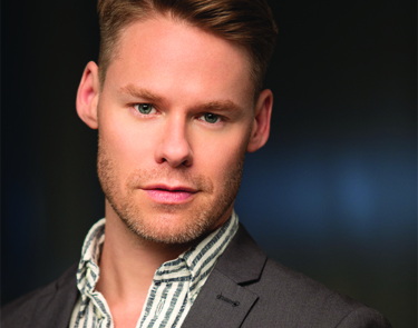 "Randy Harrison, playing ""John"" in Mike Bartlett's play, Cock, directed by David Muse."