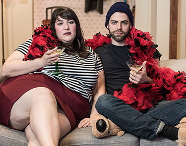 Nicole Spiezio and Tommy Heleringer in I wanna Fucking Tear You Apart. Photo: Teddy Wolff