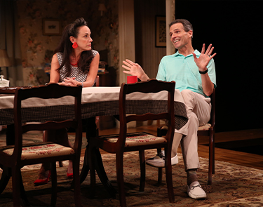 Susan Rome and Paul Morella in If I Forget. Photo: Carol Rosegg