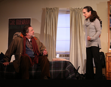 Jonathan Goldstein and Susan Rome in If I Forget. Photo: Carol Rosegg