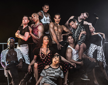 Meet the cast: Wig Out! Photo: Teddy Wolff